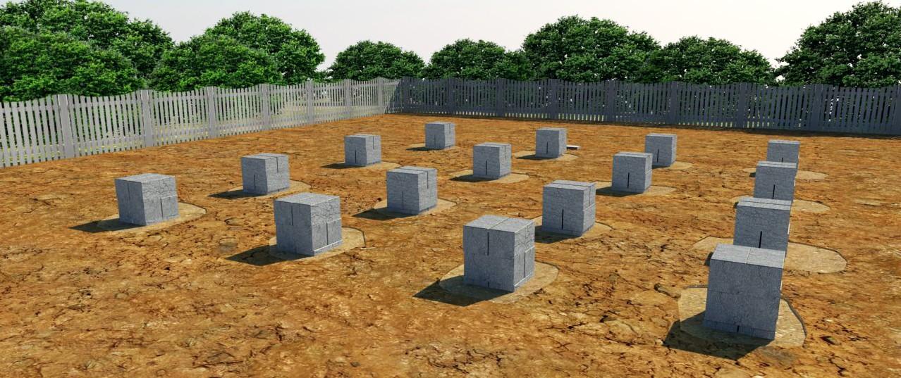 Столбчатые фундаменты и почвы: на глине, на пучинистых грунтах