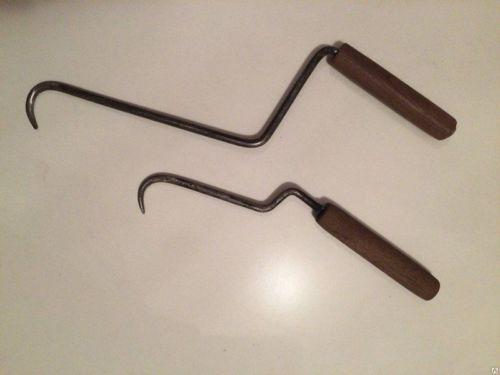 Самодельный крюк для вязки арматуры